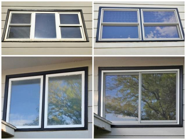Casper, WY - This Casper home upgraded their old brick-mold windows to Renewal by Andersen Fibrex windows.
