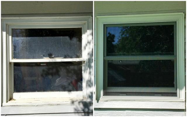 Casper, WY - This Casper home upgraded their old wood windows to more efficient Renewal by Andersen Fibrex windows.