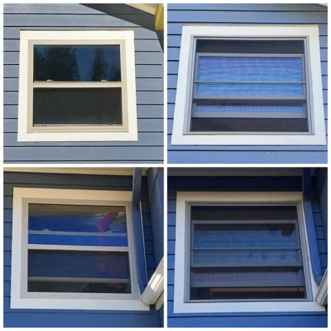 Missoula, MT - This Missoula home upgraded their older windows to more efficient Renewal by Andersen Fibrex windows.