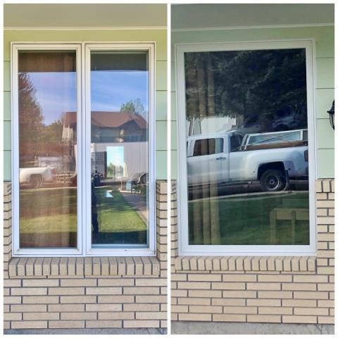 Great Falls, MT - This Great Falls home upgraded their older windows to new Renewal by Andersen Fibrex windows.