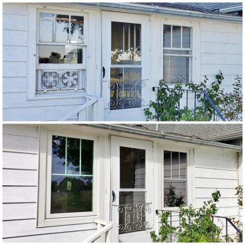 Laurel, MT - We love the face-lift this Laurel home received when they upgraded their old windows to Renewal by Andersen Fibrex!