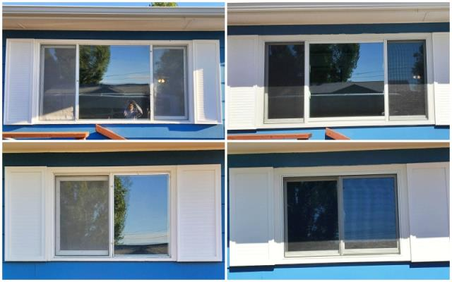 Riverton, WY - This Riverton home upgraded their old single-pane windows to Renewal by Andersen Fibrex double-pan insulated windows, increasing their energy efficiency.