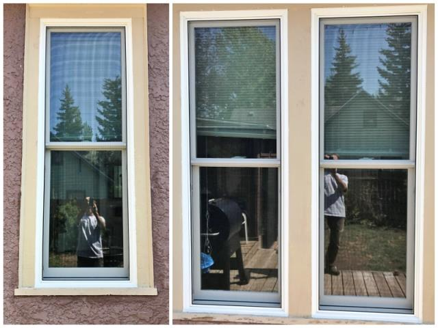 Laramie, WY - This Laramie home improved their energy efficiency by upgrading their windows to Renewal by Andersen Fibrex.
