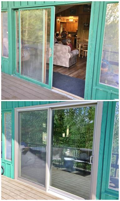 Dubois, WY - This Dubois home upgraded their patio door to a Renewal by Andersen Fibrex slider.