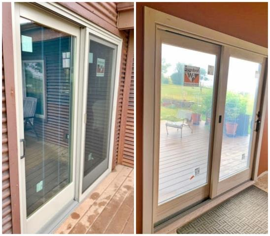 Bozeman, MT - This Bozeman home updated their patio door with a Renewal by Andersen Fibrex!