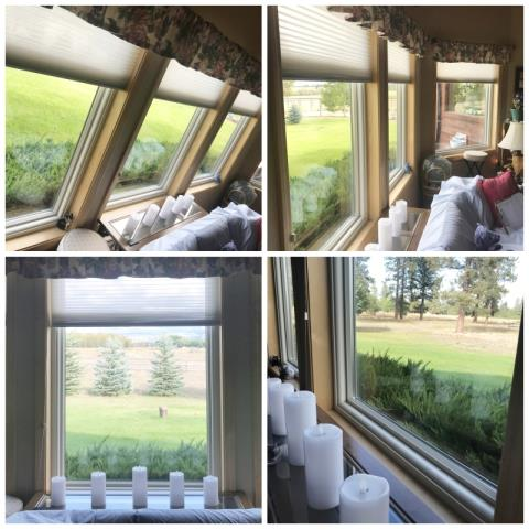 Hamilton, MT - This Hamilton is enjoying their already beautiful views through their crystal clear Renewal by Andersen Fibrex windows.
