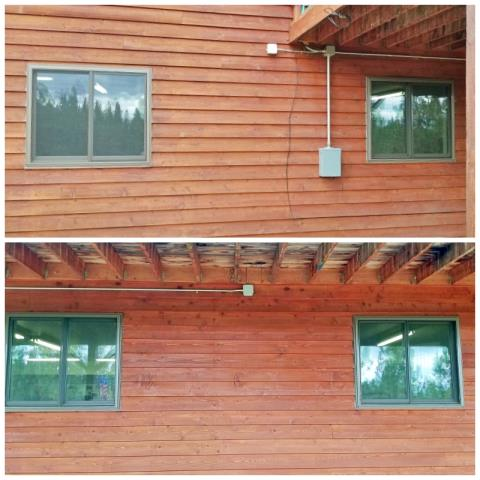 Victor, MT - This Victor home upgraded their windows to Renewal by Andersen Fibrex.