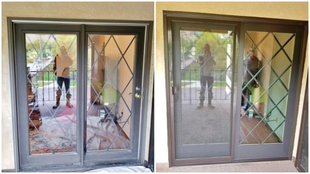 Missoula, MT - This Missoula home recently replaced their old patio door with a new RbA french door