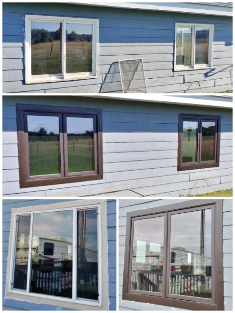 Hardin, MT - This Hardin home replaced their old vinyl windows with Renewal by Andersen Fibrex windows, increasing energy efficiency and curb appeal.