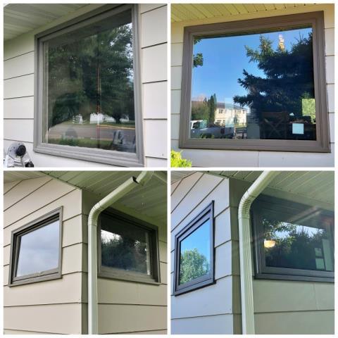 Conrad, MT - This Conrad home upgraded their windows to Renewal by Andersen Fibrex.