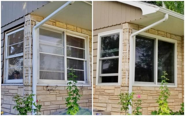 Rapid City, SD - This Rapid City home upgraded their windows to Renewal by Andersen Fibrex, increasing energy efficiency and adding to their already beautiful curb appeal.