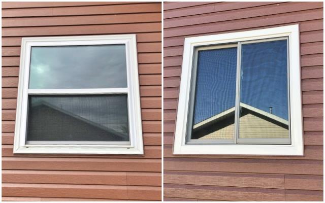 Buffalo, WY - This Buffalo home upgraded their vinyl windows to Renewal by Andersen Fibrex, increasing their energy efficiency.