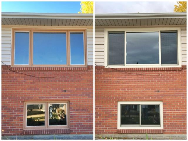 Laramie, WY - This Laramie home upgraded their windows to Renewal by Andersen Fibrex.