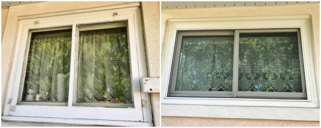 Cheyenne, WY - This Cheyenne home upgraded their old windows to Renewal by Andersen Fibrex windows, increasing their energy efficiency and their curb appeal.
