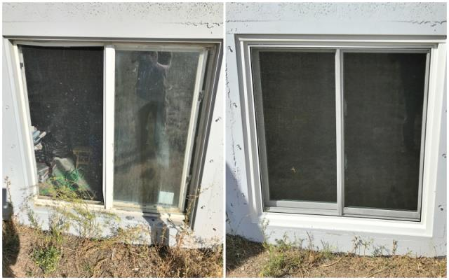 Carpenter, WY - This Carpenter home upgraded their windows to Renewal by Andersen Fibrex.