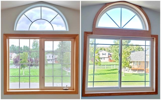 Billings, MT - This Billings home upgraded their windows to Renewal by Andersen Fibrex, increasing energy efficiency and clarity.