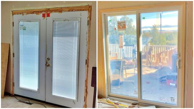 Great Falls, MT - This Great Falls home upgraded their patio door to a Renewal by Andersen Fibrex slider.