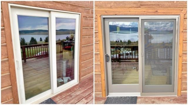 West Yellowstone, MT - This West Yellowstone home upgraded their patio door to a Renewal by Andersen slider.