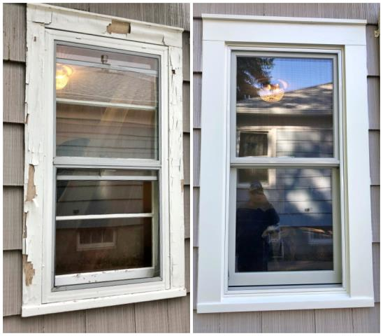 Great Falls, MT - This Great Falls home upgraded their old windows to Renewal by Andersen Fibrex, enhancing their curb appeal and increasing their energy efficiency.