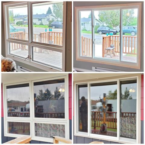 Cody, WY - This Cody home upgraded their old wood windows to Renewal by Andersen Fibrex.