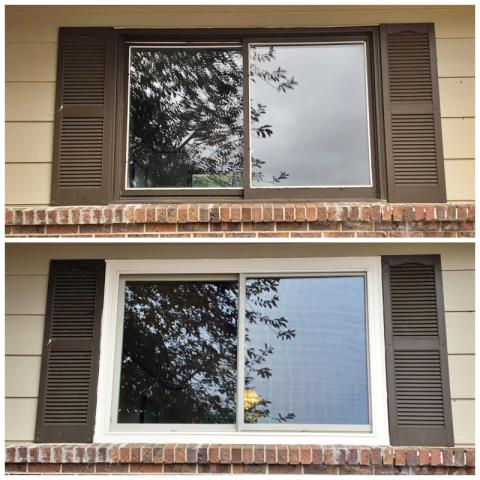 Casper, WY - This Casper home upgraded their windows to Renewal by Andersen Fibrex, increasing their energy efficiency and curb appeal.