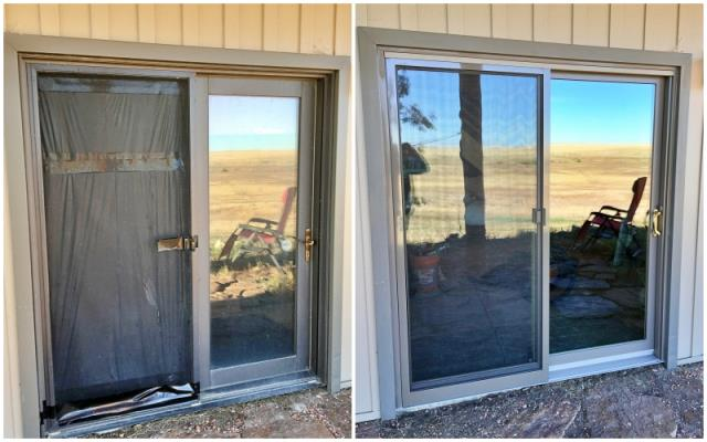 Casper, WY - This Casper home upgraded their French door with a Renewal by Andersen slider.