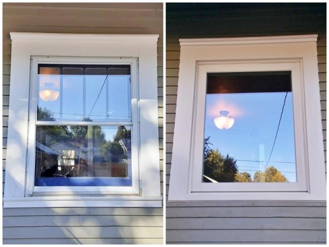 Casper, WY - This Casper home upgraded their windows to more efficient Renewal by Andersen Fibrex windows.