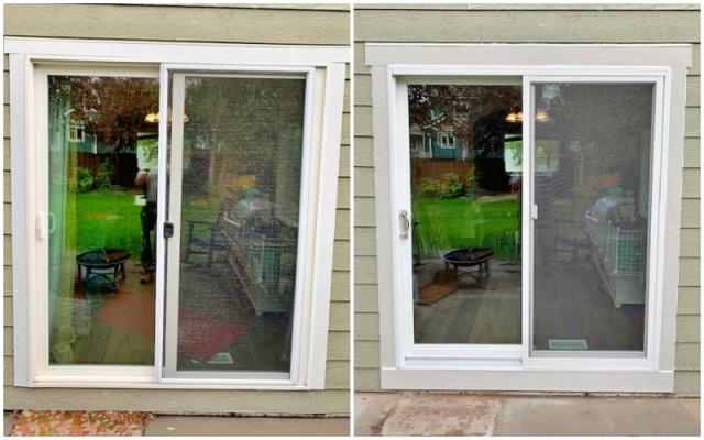 Bozeman, MT - This Bozeman home upgraded their patio door to a Renewal by Andersen Fibrex door.