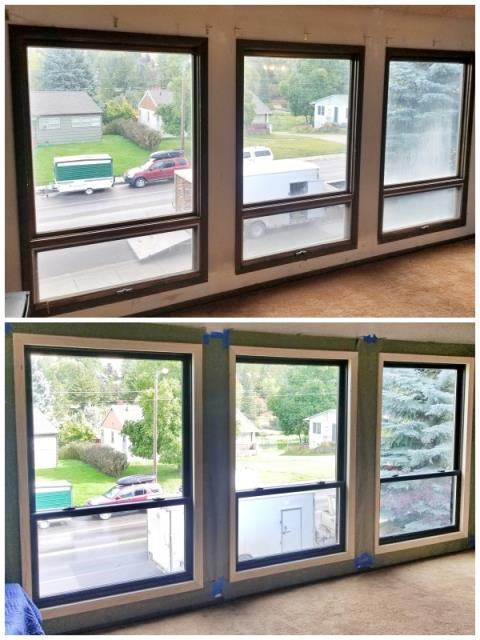 Missoula, MT - This Missoula home upgraded their windows to Renewal by Andersen Fibrex, increasing clarity and energy efficiency.