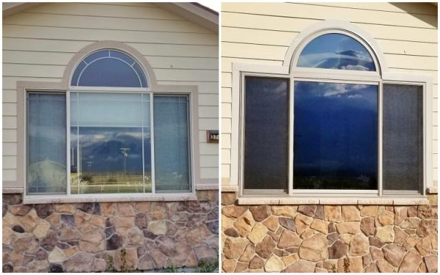 Stevensville, MT - This Stevensville home upgraded their window to Renewal by Andersen Fibrex.