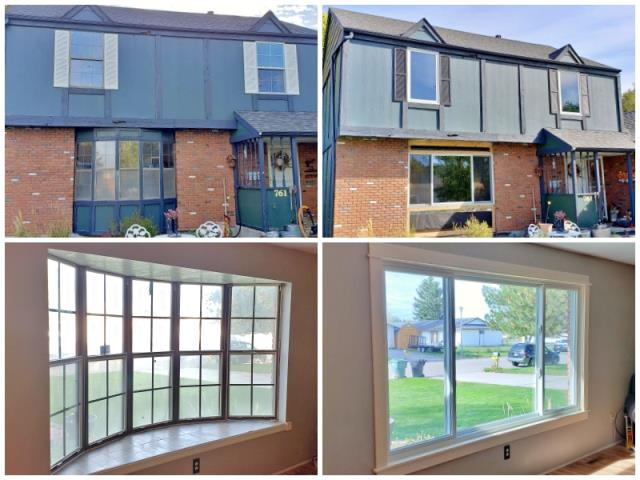 Billings, MT - We are loving the transformation of this Billings home with their new Renewal by Andersen Fibrex windows.  The increased clarity and updated curb appeal are evident, not to mention the enhanced energy efficiency they'll experience.