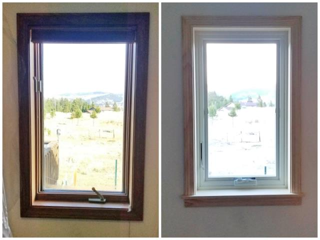 Elliston, MT - This Elliston home upgraded their windows to Renewal by Andersen Fibrex.
