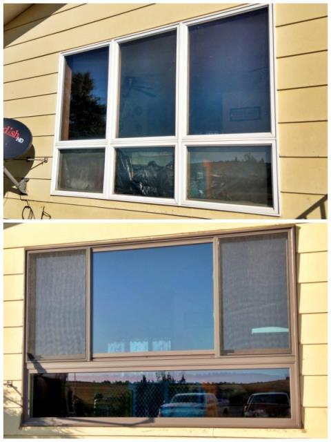 Philip, SD - This Philip home upgraded their windows to Renewal by Andersen Fibrex.