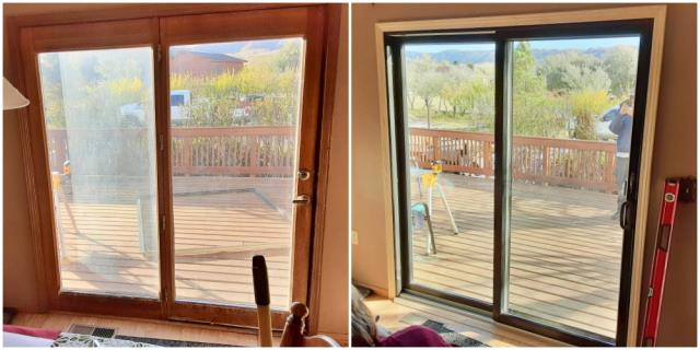 Casper, WY - This Casper home upgraded their patio door to a Renewal by Andersen sliding door.