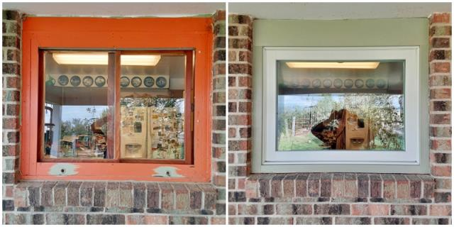 Cheyenne, WY - This Cheyenne home upgraded their old wood windows to new Renewal by Andersen Fibrex.