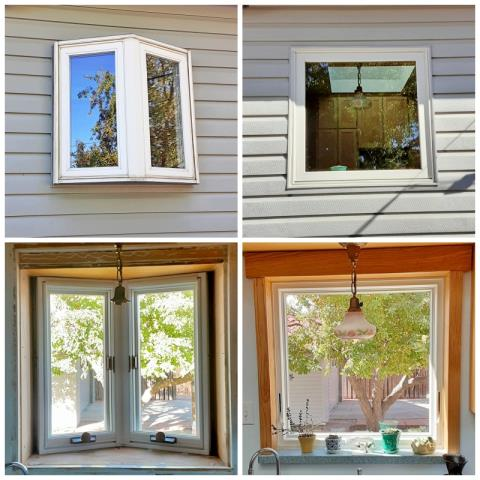 Laramie, WY - This Laramie home upgraded their old window to a Renewal by Andersen Fibrex, increasing efficiency and curb appeal.