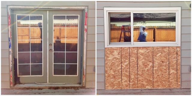 Casper, WY - Want to change a window into a door?  How about a door into a window?  We've got you covered.  This Casper home did exactly that, replacing their old patio door with a new energy efficient Renewal by Andersen Fibrex window!