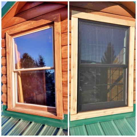 Sturgis, SD - This Sturgis home upgraded their old windows to Renewal by Andersen Fibrex.