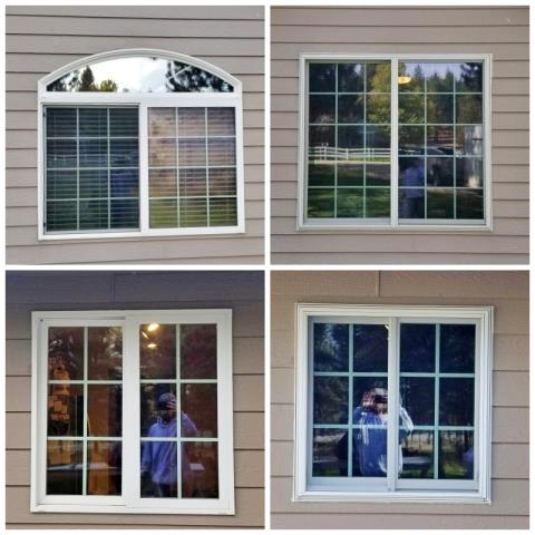 Stevensville, MT - This Stevensville home upgraded their windows to more efficient Renewal by Andersen Fibrex windows.