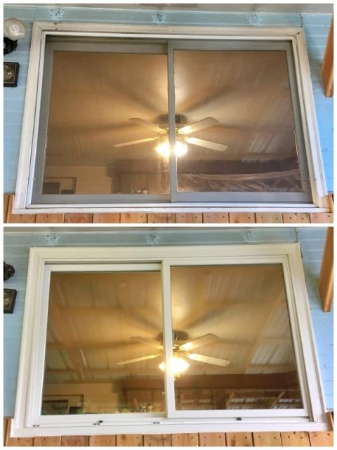 Libby, MT - This Libby home upgraded their old windows to Renewal by Andersen Fibrex energy efficient windows.
