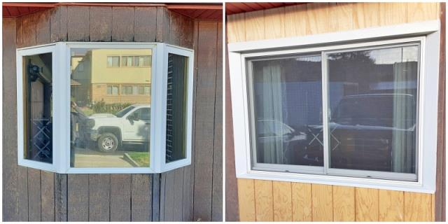 Rawlins, WY - This Rawlins home removed their old bay window and replaced it with a more efficient Renewal by Andersen Fibrex window.