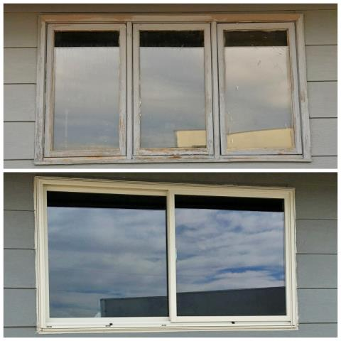 Casper, WY - This Casper home upgraded their windows to Renewal by Andersen Fibrex, increasing energy efficiency, curb appeal, and home value.