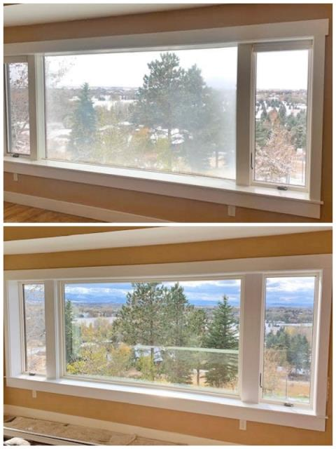 Bozeman, MT - This Bozeman home upgraded their windows to Renewal by Andersen Fibrex