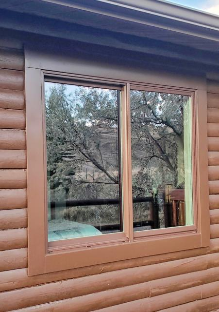 Cody, WY - This home in Wapiti upgraded their windows to Renewal by Andersen Fibrex windows.