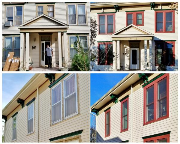 Rapid City, SD - We could not believe the transformation of this Rapid City home!  Not only did their Renewal by Andersen Fibrex windows provide a major facelift and increase their home value, but we cannot wait to hear about their newfound energy savings!