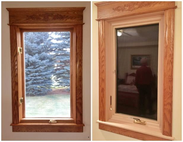 Bozeman, MT - This Bozeman home upgraded their old windows to more efficient Renewal by Andersen Fibrex windows.
