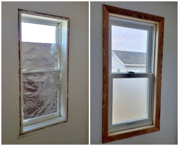Great Falls, MT - This Great Falls home upgraded their window to a Renewal by Andersen with privacy glass, eliminating the need for tinfoil, increasing energy efficiency and increasing curb appeal.