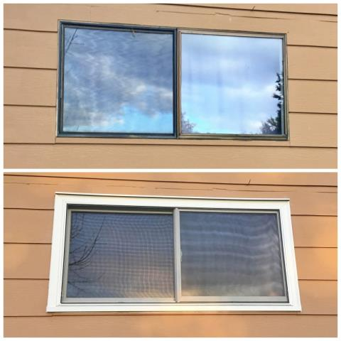 Polson, MT - This Polson home upgraded their old windows to Renewal by Andersen Fibrex.