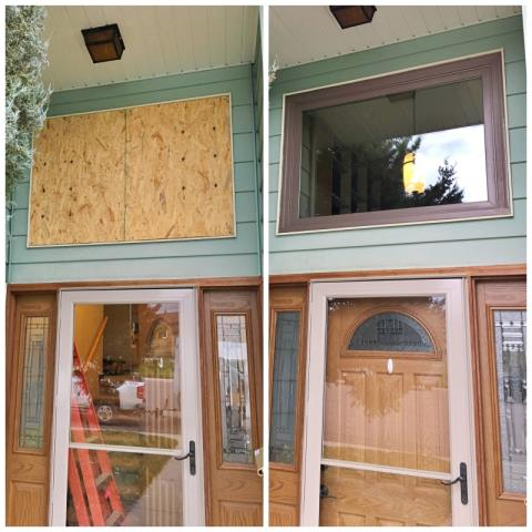 Casper, WY - This Casper home chose Renewal by Andersen to replace their broken window with a new Fibrex picture window.