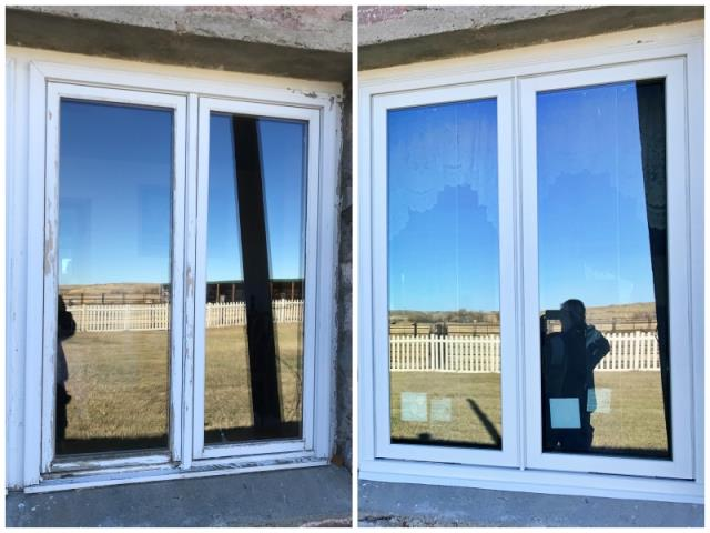Chugwater, WY - This Chugwater home upgraded their old windows to Renewal by Andersen Fibrex.